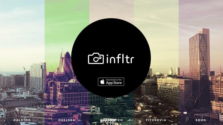 Infiltr: l'app iPhone con 7 milioni di filtri fotografici