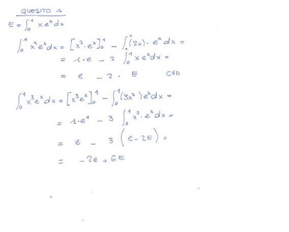 Matematica soluzione quesito 1 Maturità 2017