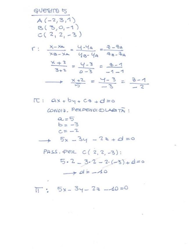 Matematica soluzione quesito 5 Maturità 2017