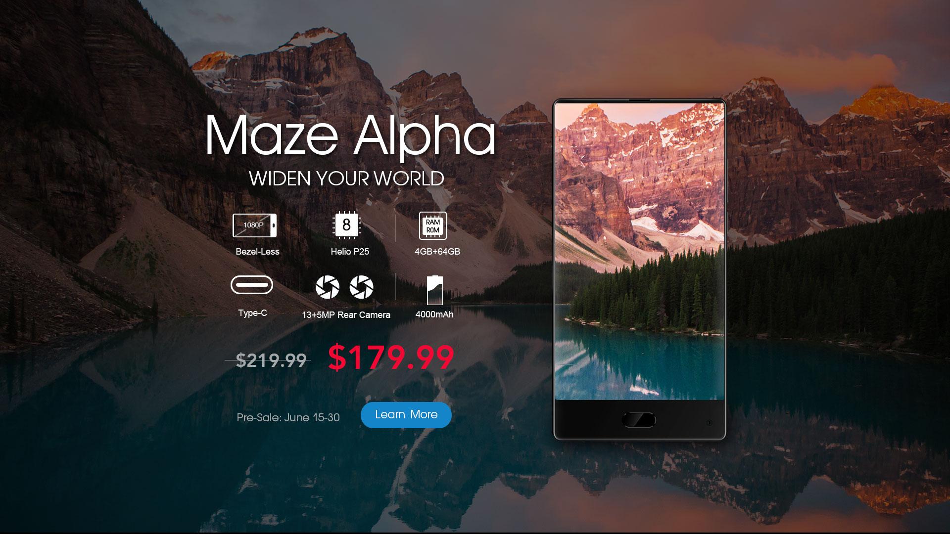Maze Alpha prezzo
