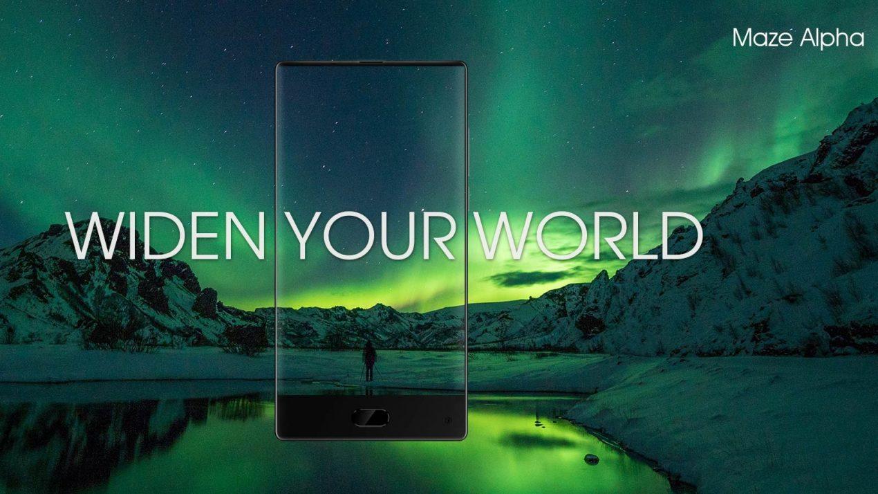 Maze Alpha: lo smartphone senza cornici economico