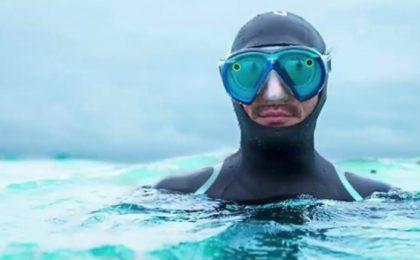 Occhiali Snapchat Spectables ora subacquei per l'estate