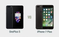 OnePlus 5 vs iPhone 7 Plus: il confronto