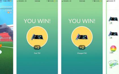 Pokemon Go: macchine tecniche, caramella rara e i nuovi oggetti