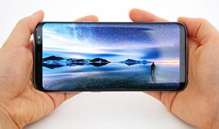 Samsung Galaxy S8 Plus fotocamera