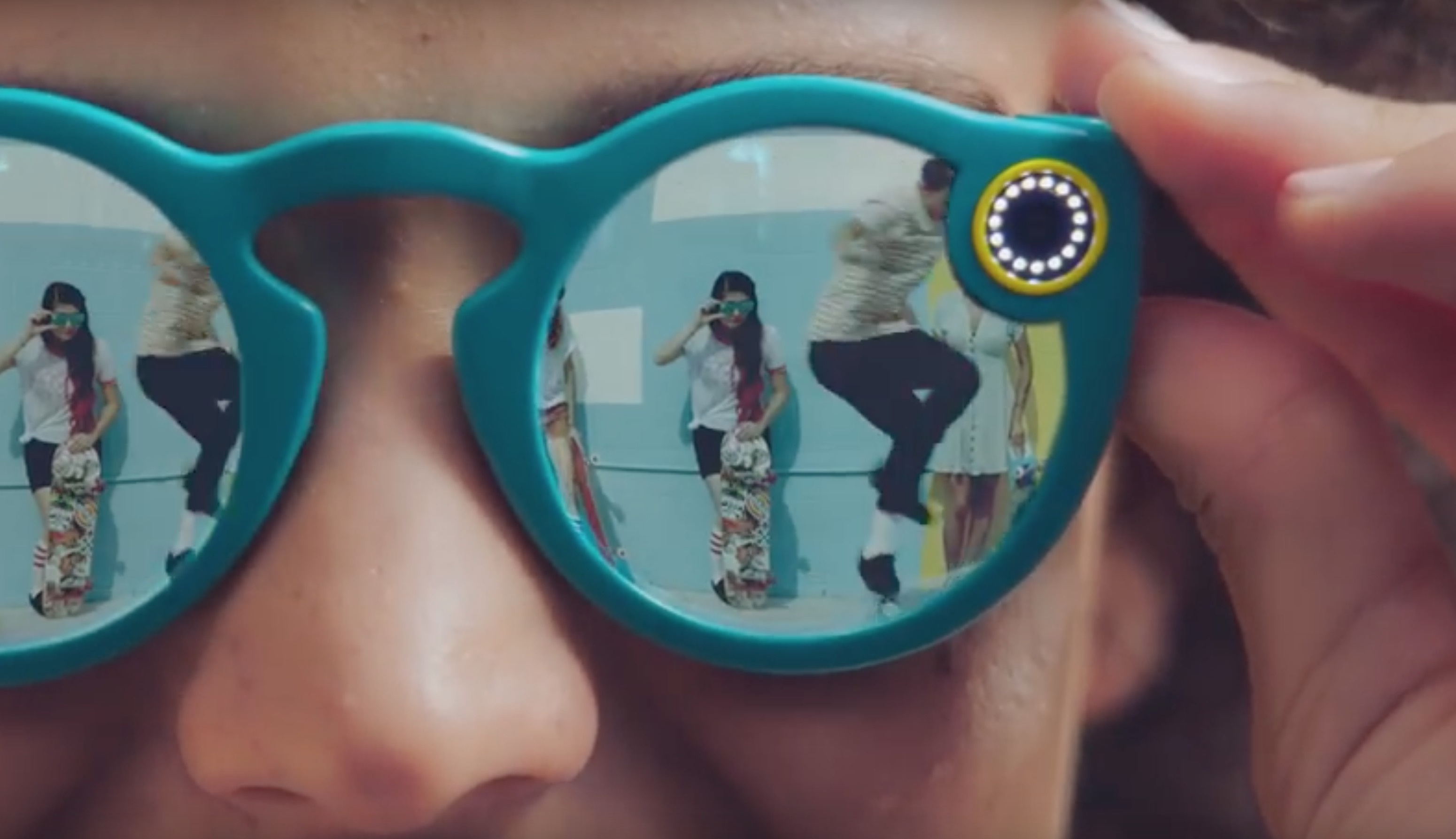 Snapchat Spectacles occhiali smart per video