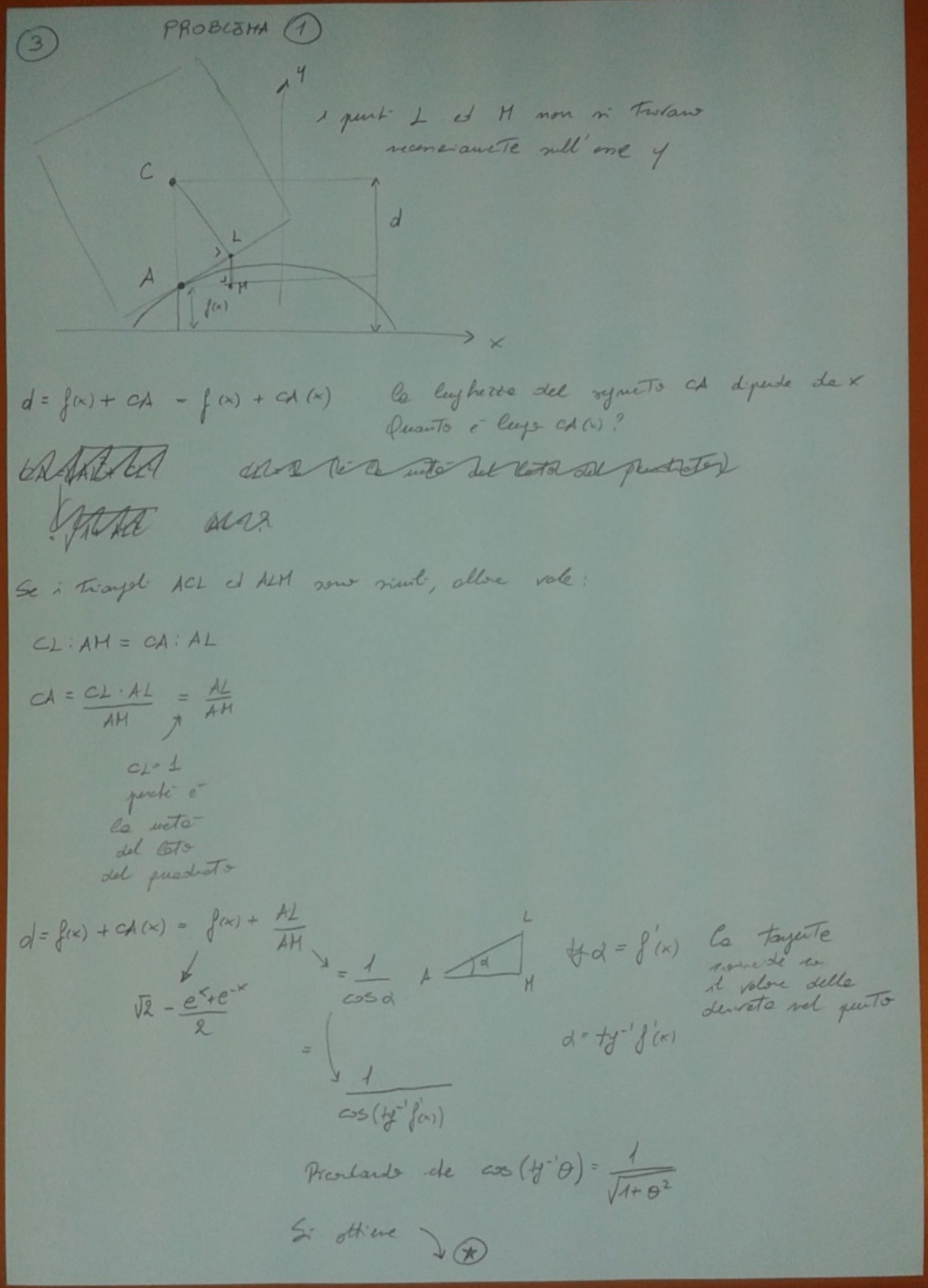 Soluzione primo esercizio matematica Maturità 2017 pagina 3