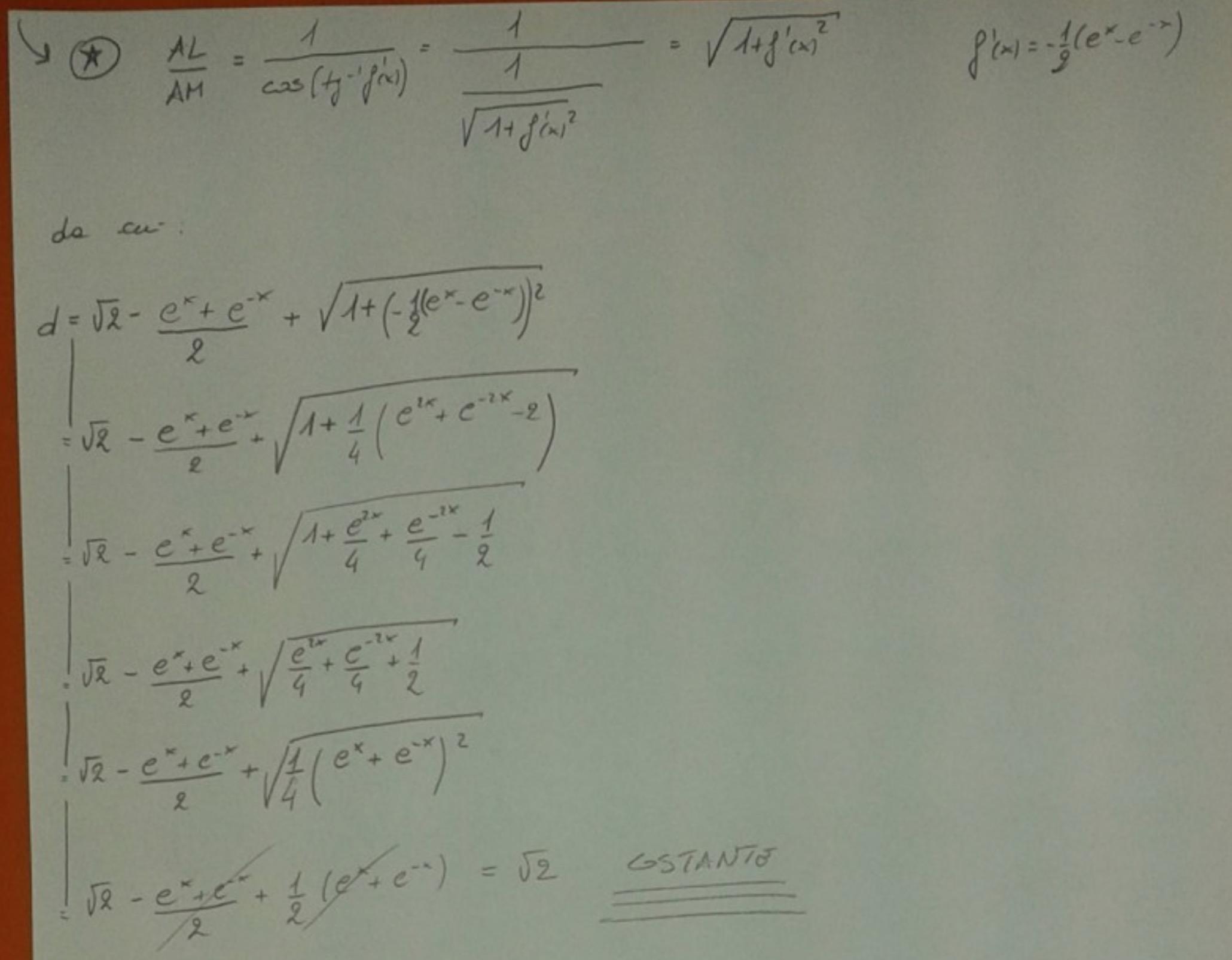 Soluzione primo esercizio matematica Maturità 2017 pagina 6