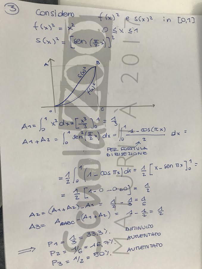 Soluzione problema 2 matematica Maturità 2017 pagina 4