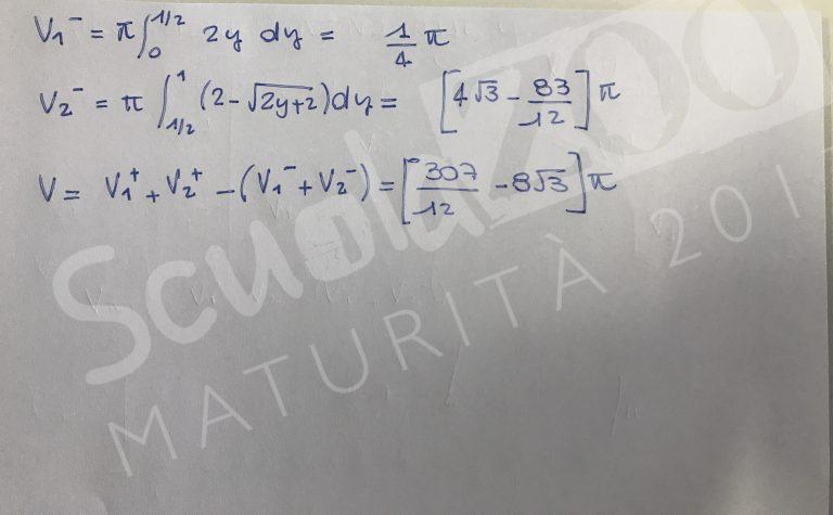 Soluzione problema 2 matematica Maturità 2017 pagina 6
