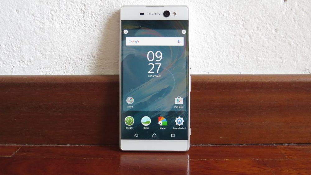 Sony Xperia XA Ultra fronte
