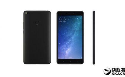 Xiaomi Mi Max 2 in uscita nella colorazione nera opaca