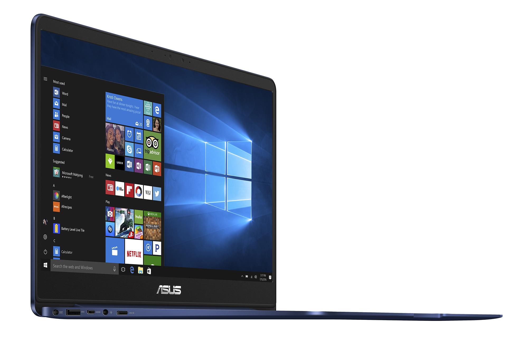 ASUS ZenBook UX430 e UX530: specifiche tecniche, prezzo e uscita