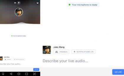 Facebook dirette audio: da oggi disponibili per Android