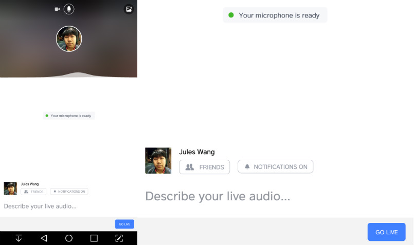 Facebook dirette audio: da oggi disponibili per Android