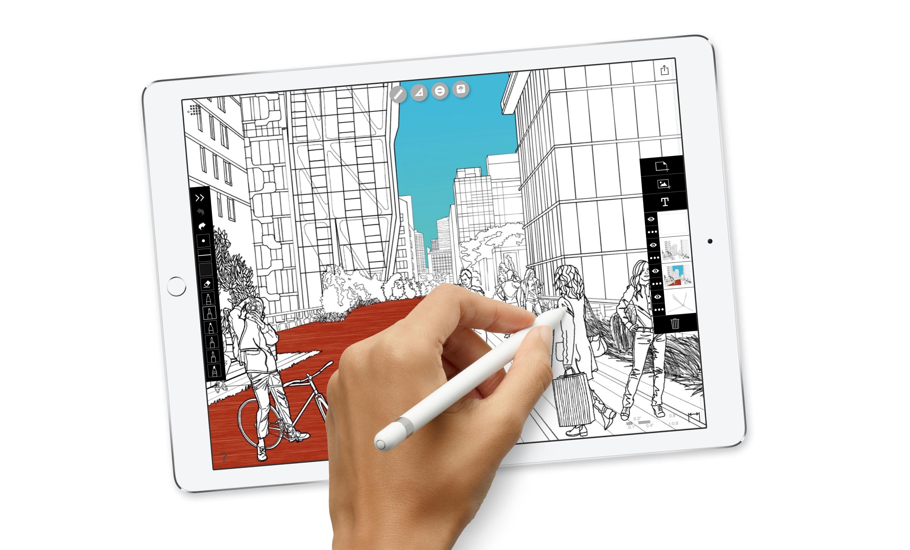 iPad Pro 10.5 schermo