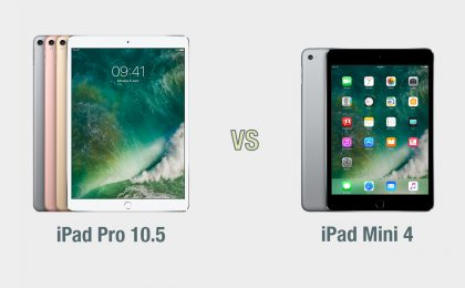 iPad Pro 10.5 vs iPad Mini: il confronto