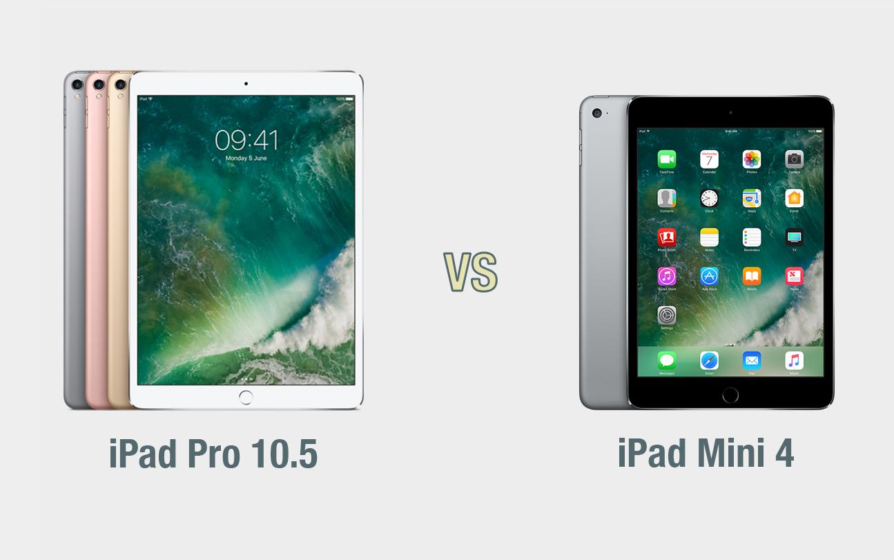 iPad Pro 10.5 vs iPad Mini: il confronto