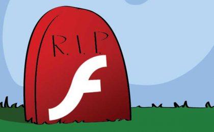 Adobe Flash andrà in pensione nel 2020