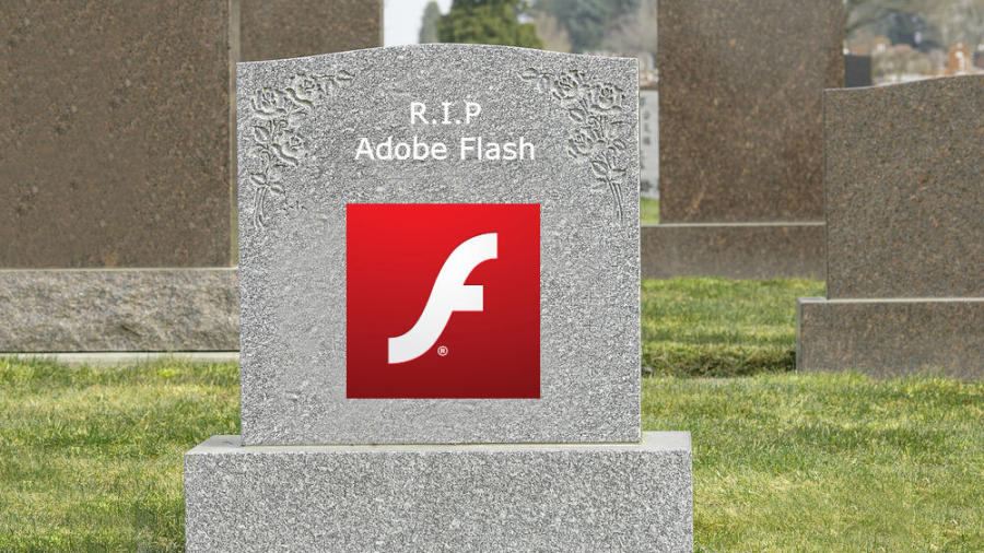 Adobe Flash addio