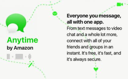 Amazon Anytime: l'app di messaggistica anti-WhatsApp