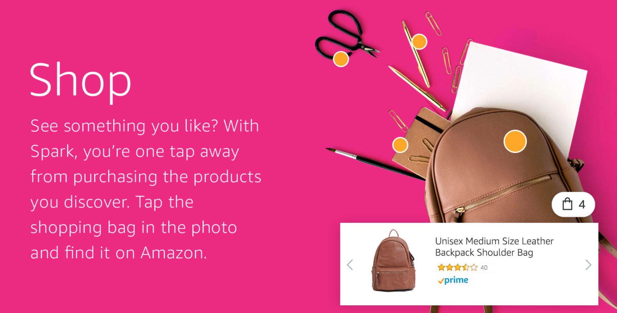 Amazon Spark shopping