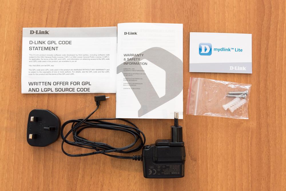 D Link DCS 2530L accessori