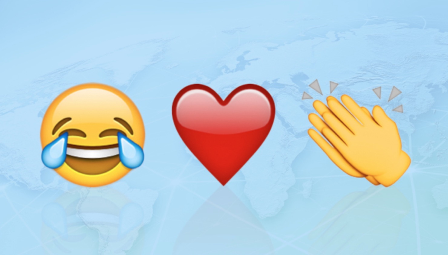 Le emoji più condivise su Facebook Messenger