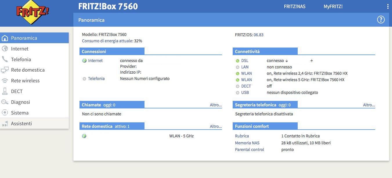 FRITZ!OS FRITZ!Box 7560