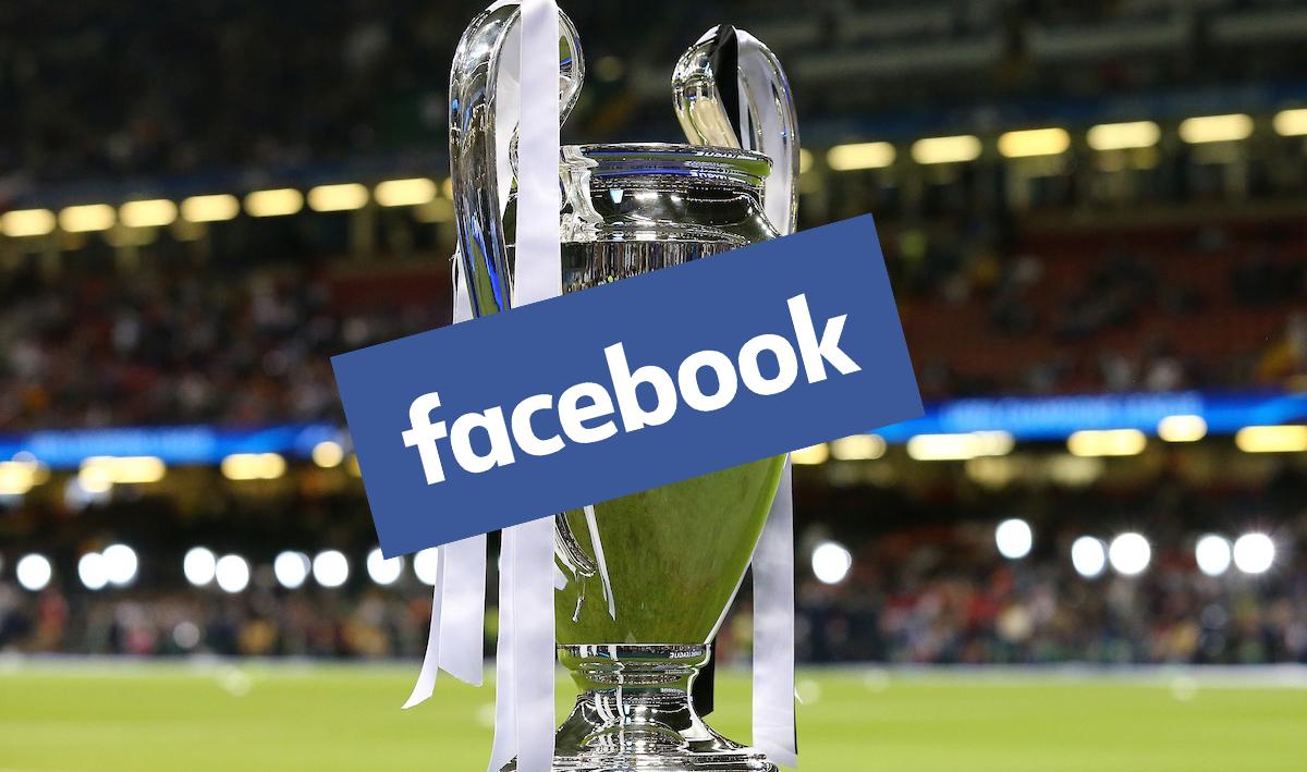 Come vedere la Champions su Facebook dall'Italia