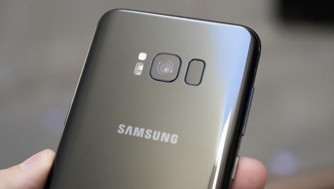 Galaxy S8 fotocamera
