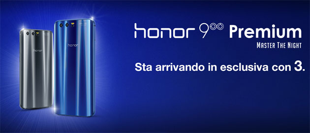 Honor 9 Premium in uscita con 3: prezzo e scheda tecnica