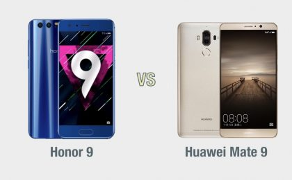 Honor 9 vs Huawei Mate 9: il confronto