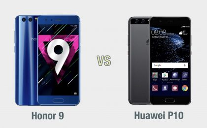 Honor 9 vs Huawei P10: il confronto