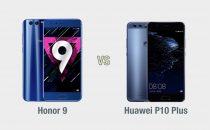 Honor 9 vs Huawei P10 Plus: il confronto