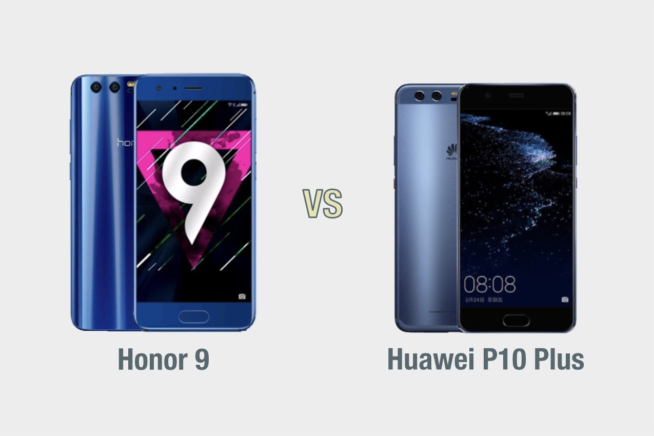Honor 9 vs Huawei P10 Plus: il confronto