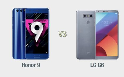 Honor 9 vs LG G6: il confronto