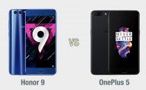 Honor 9 vs OnePlus 5: il confronto