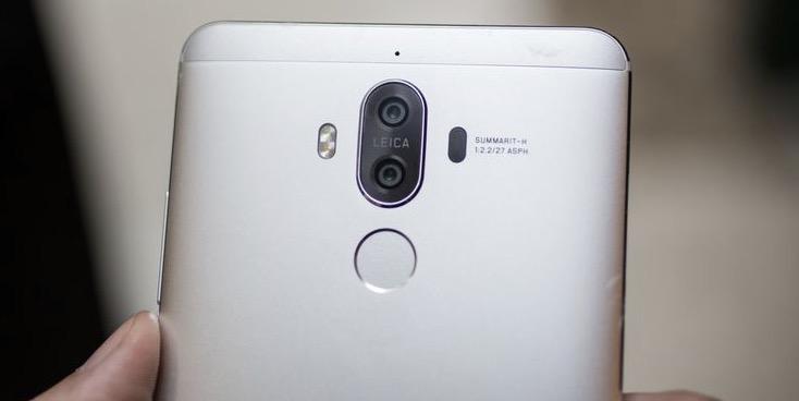 Huawei Mate 9 fotocamera