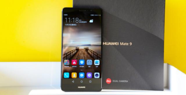 Huawei Mate 9 schermo