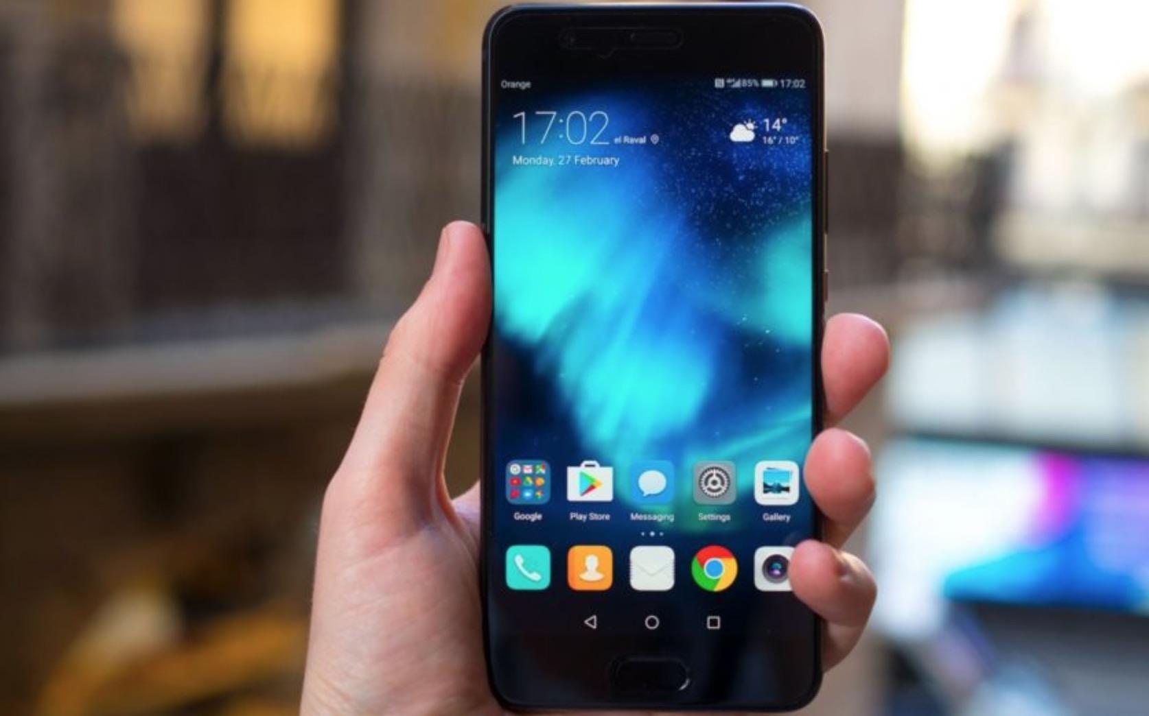 Huawei P10 Plus schermo
