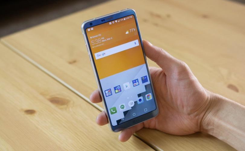LG G6 schermo