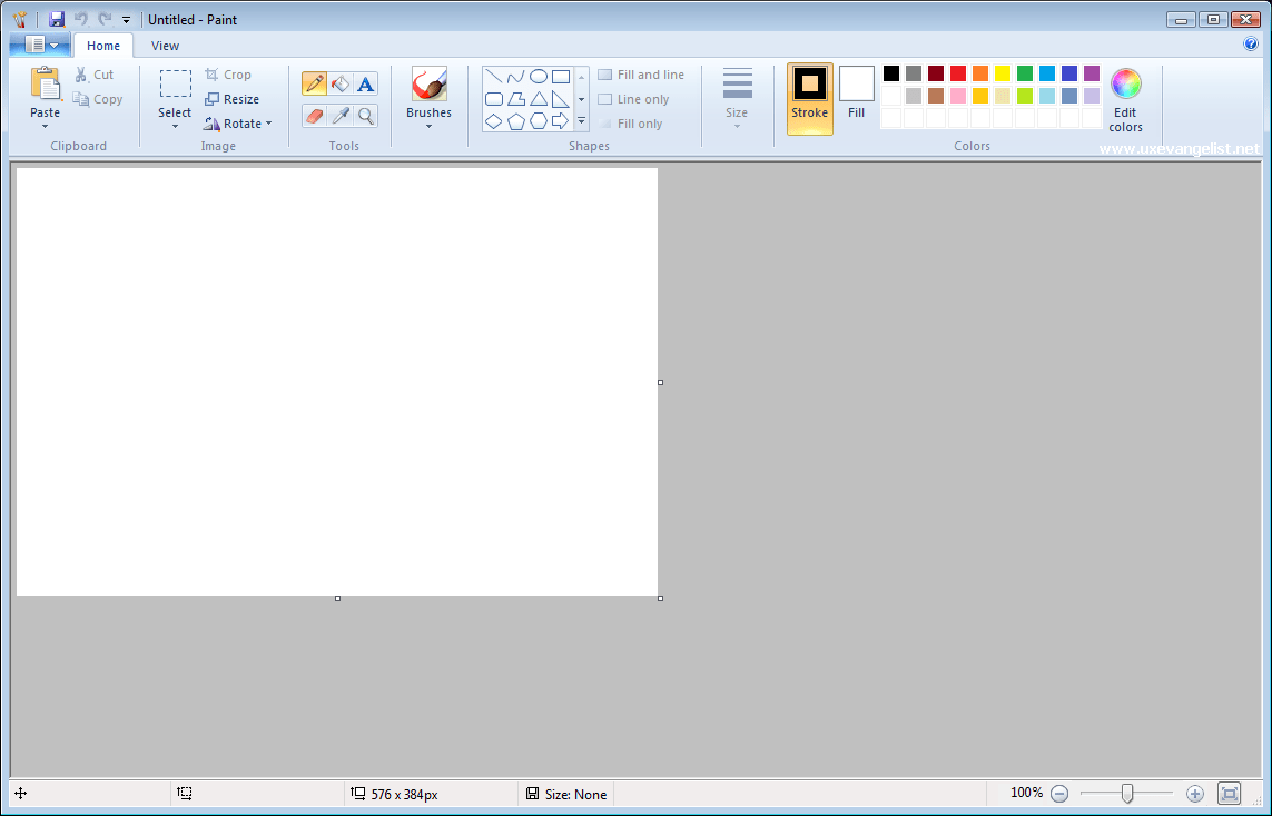 Microsoft Paint software 32 anni