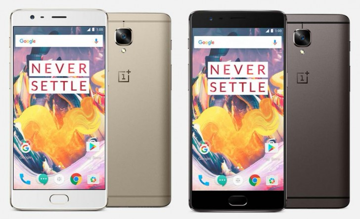 OnePlus 3T ufficiale