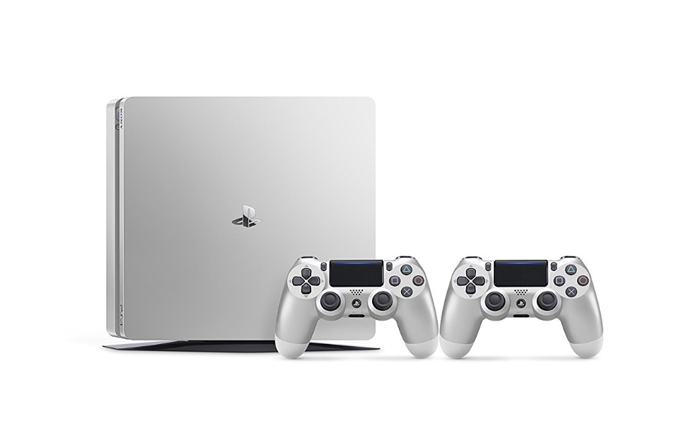 PlayStation 4 500GB Silver + DS4 Silver