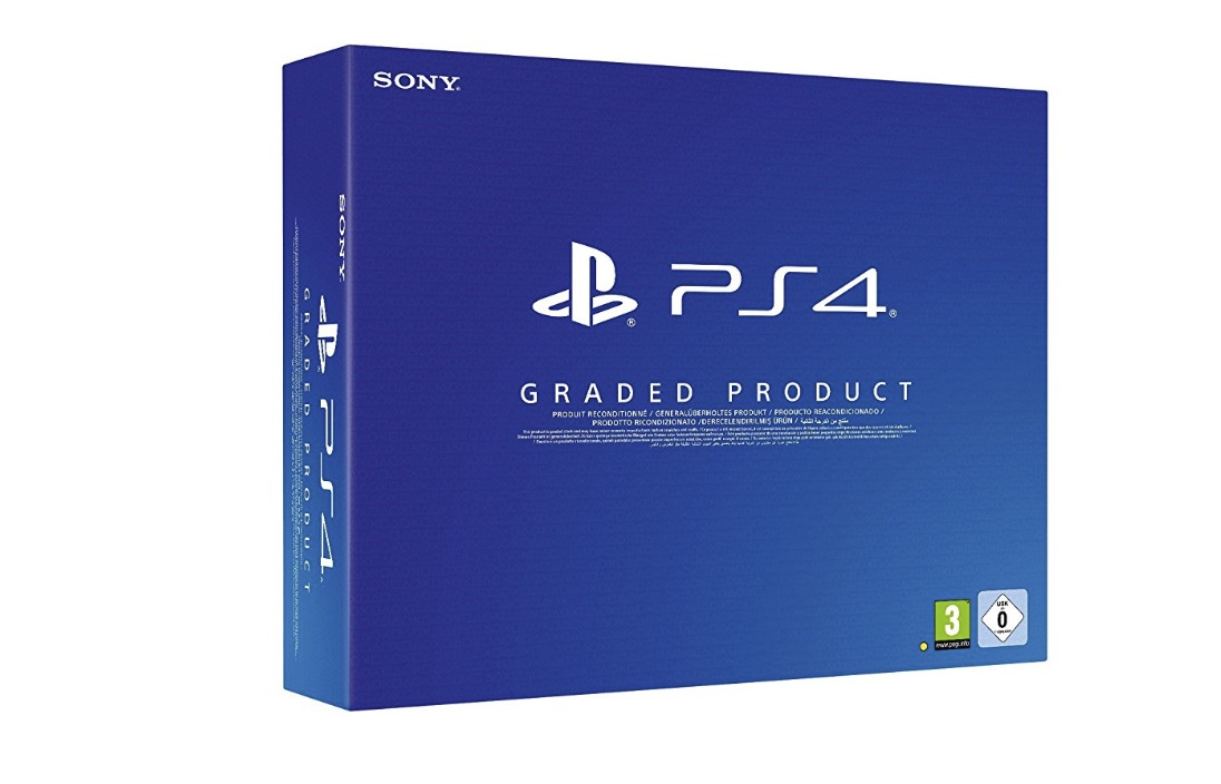PlayStation 4 500GB ricondizionato certificato