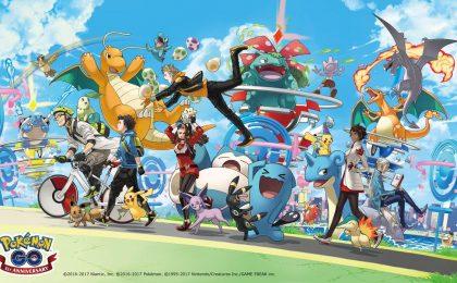 Pokemon Go anniversario un anno: l'evento e le novità previste
