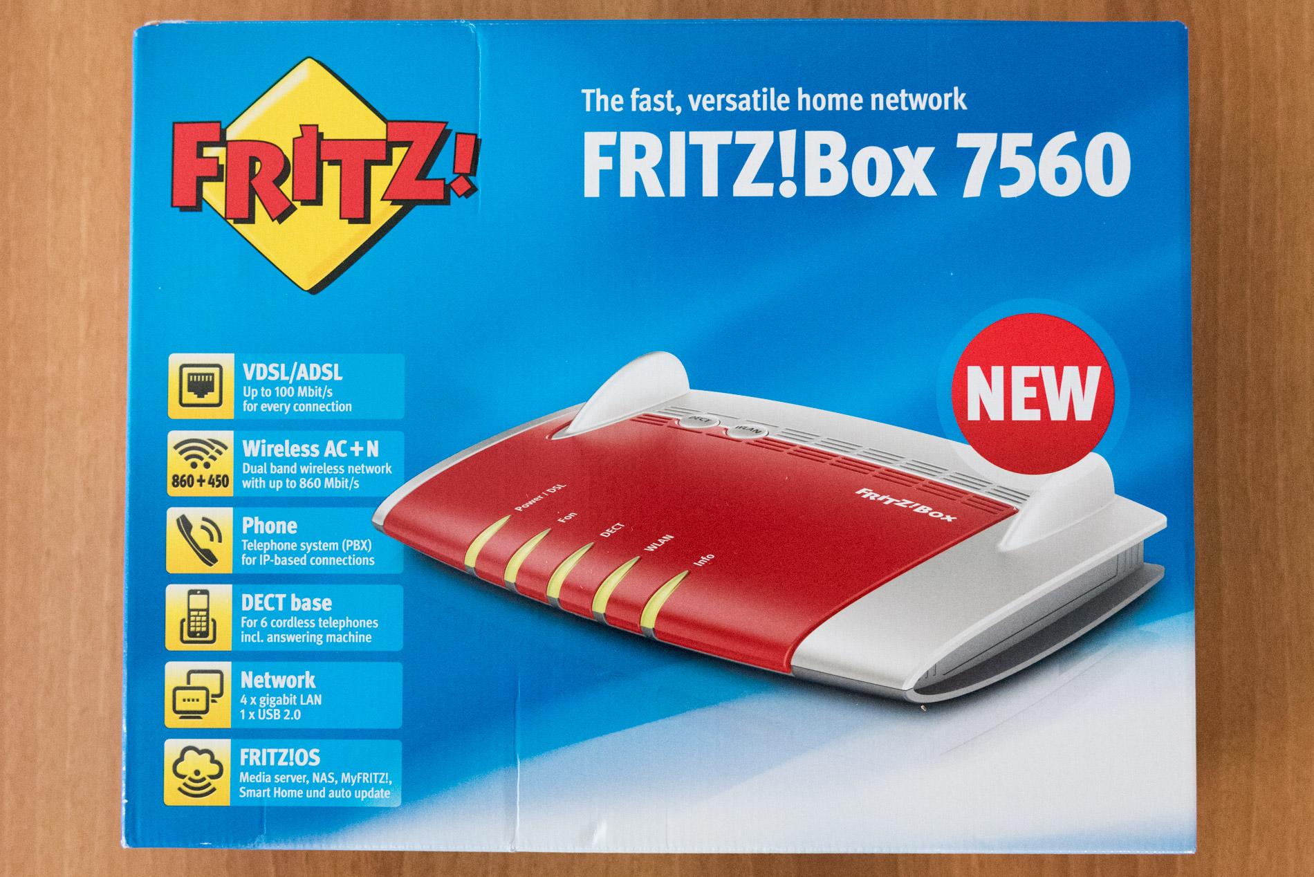 Unboxing FRITZ!Box 7560