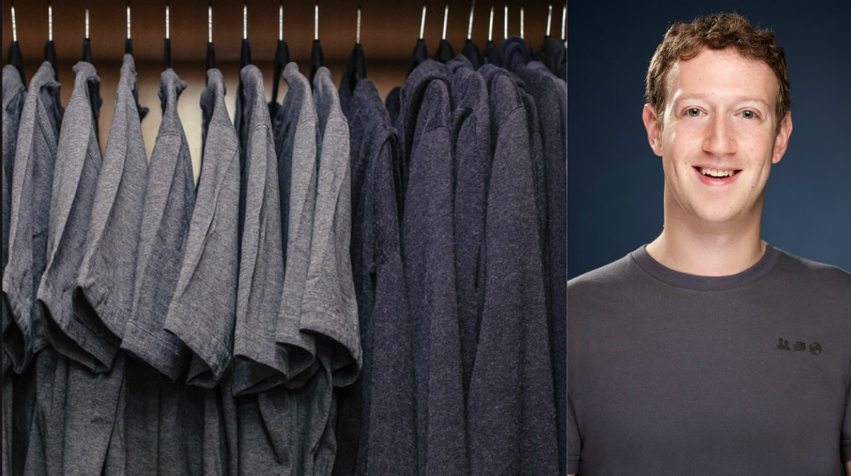 Vestire come Mark Zuckerberg, arriva la t-shirt grigia