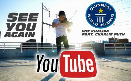 Wiz Khalifa supera PSY per il video più visto di sempre su YouTube